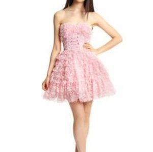 Betsy Johnson Pink Lace Dress